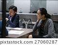 女性工作人员召开会议  27060287