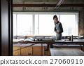 女性 電話 一間辦公室 27060919