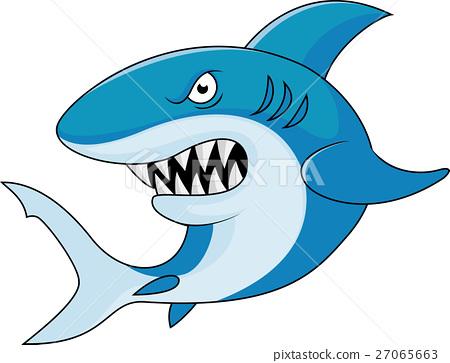 Shark cartoon 27065663
