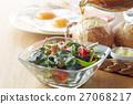 早餐 沙拉 沙律 27068217