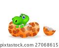 dinosaur, egg, tyrannosaurus 27068615