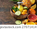 Variety of citrus fruits 27071414