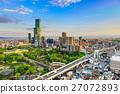Osaka Japan Cityscape 27072893