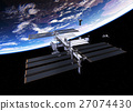 Spacecrafts And International Space Station 27074430