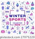 winter, sport, vector 27075220