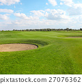 Green golf course 27076362