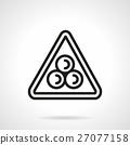 snooker, billiard, icon 27077158