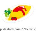 煎蛋飯 27078612