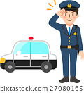 police, officer, salute 27080165
