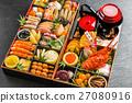 年夜飯 禦節料理 傳統日本新年菜餚 27080916