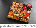 年夜飯 禦節料理 傳統日本新年菜餚 27080920
