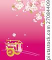 御所古鲁马 樱花 樱桃树 27084409