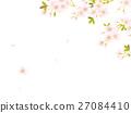 樱花 樱桃树 矢量 27084410