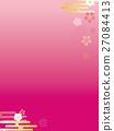 矢量 特卖 樱花盛开 27084413