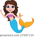 mermaid, character, fantasy 27087134