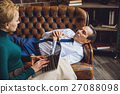 Mature man in office of psychologist 27088098