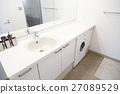 드럼 세탁기 세탁기 드럼 드럼 화장실 세면대 부동산 27089529