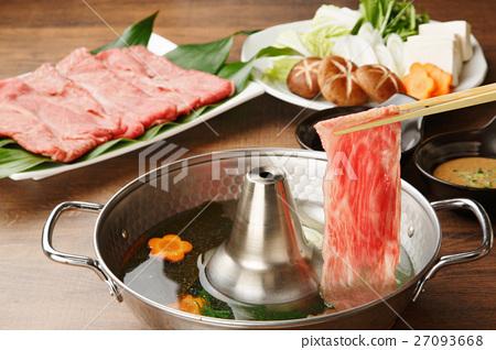 牛肉涮鍋 27093668