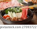 寿喜烧 牛肉 日本食品 27093722