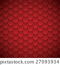 Abstract background with hexagon elements vector 27093934