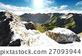 Alpine landscape in the Alps 3d rendering 27093944