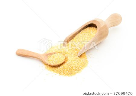 거칠게 탄 옥수수 (굵은) : Corn grits (large granule) 27099470