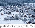日本 雪景 童话 27100253