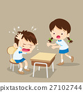 student girl helping friend have headache 27102744