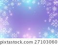 background, vector, winter 27103060