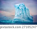 冰山 海洋 海浪 27105247
