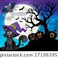 Halloween cat theme image 8 27106395