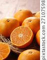 mandarin orange, mikan, food 27107598