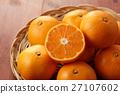 mandarin orange, mikan, food 27107602