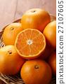 mandarin orange, mikan, food 27107605