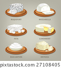 Roquefort and mozzarella, feta or camembert 27108405