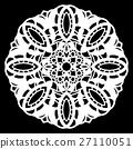 Lace, circle, doily 27110051