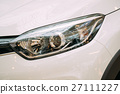 Close The Left Headlight Of New White Color 27111227