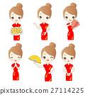 asian, cheongsam, chinese 27114225