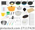 ชุดภาพประกอบของใช้ในครัว 27117428