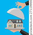 vector house cloche 27119900