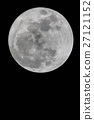 Full moon in night. 27121152