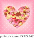 背景 糖果 甜點 27124347