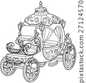 Cinderella Fairy Tale Pumpkin Carriage 27124570
