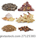 Spice cloves , sunflower seeds, ginger, garlic 27125383