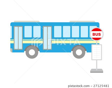公共汽車站 公共汽車 巴士 27125481
