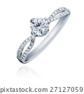 Diamond engagement ring 27127059