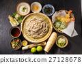什錦蕎麥麵蕎麥麵設日本麵條 27128678