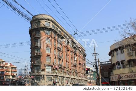 상하이의 건물 27132149