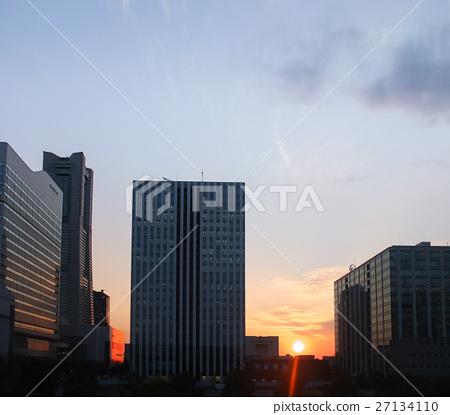 橫濱夕陽 27134110