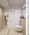 3d render of interior design bathroom   27135481